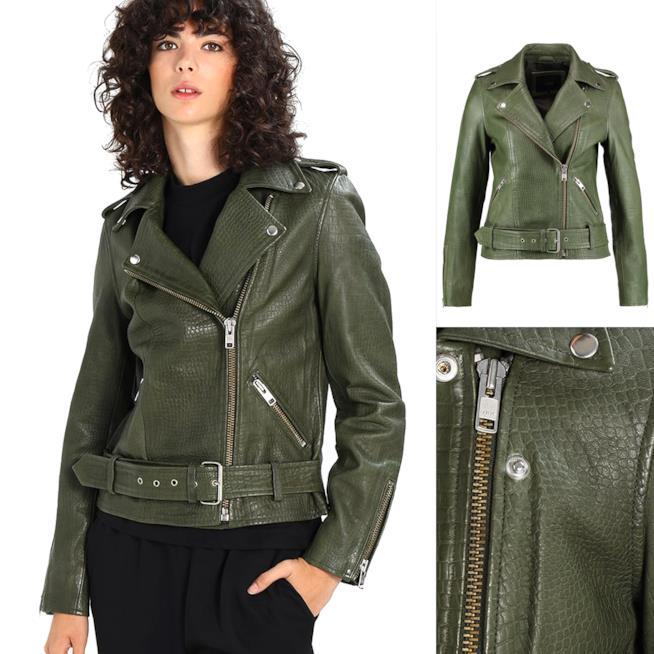 Le giacche in pelle per la donna da comprare su zalando for Zalando pellicce