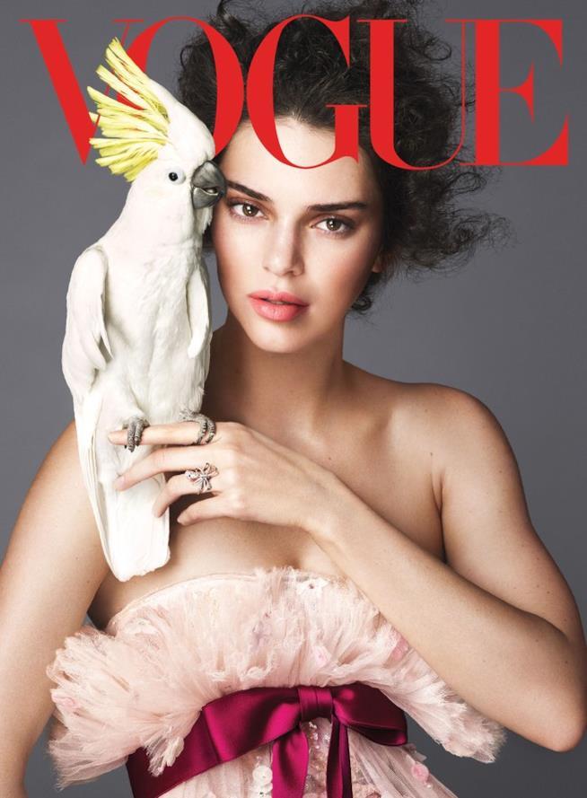 Kendall Jenner sulla copertina di Vogue