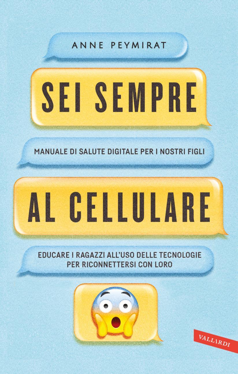 La cover del libro di Anne Peymirat su come educare i ragazzi all'uso delle tecnologie