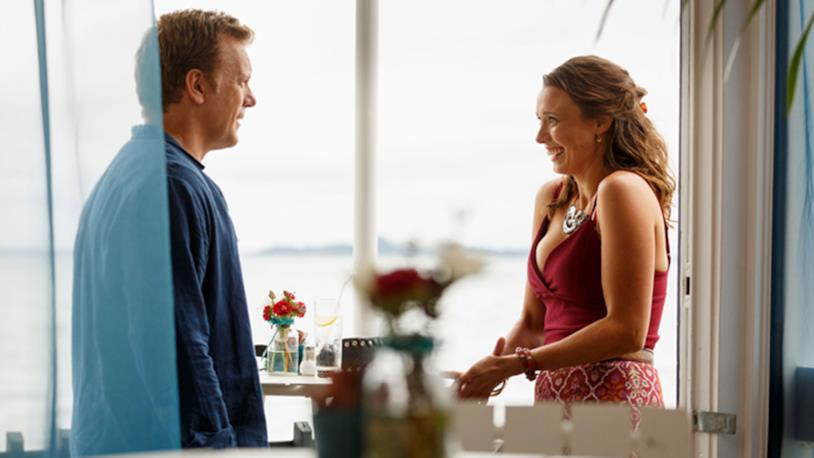 800 Words: un'immagine di George e Katie nella seconda stagione