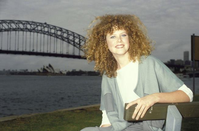 Nicole Kidman agli esordi