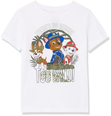 T-Shirt con Stampa Paw Patrol
