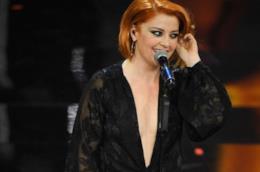 Il vestito di Noemi nella terza serata di Sanremo 2018
