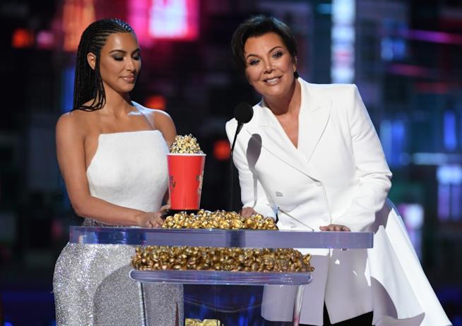 Kim Kardashian e la madre Kris Jenner