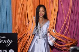 Rihanna a un evento Fenty