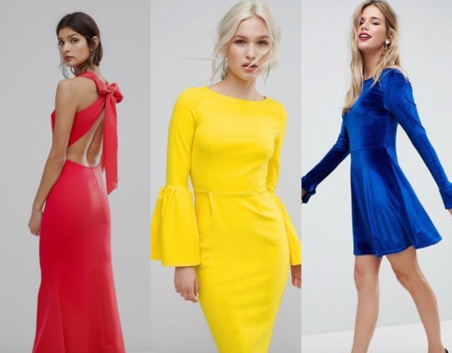 Tre outfit nei colori primari