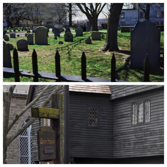 Cimitero e Witch House a Salem