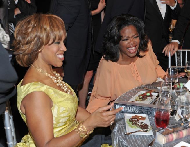 Gayle King e Oprah Winfrey