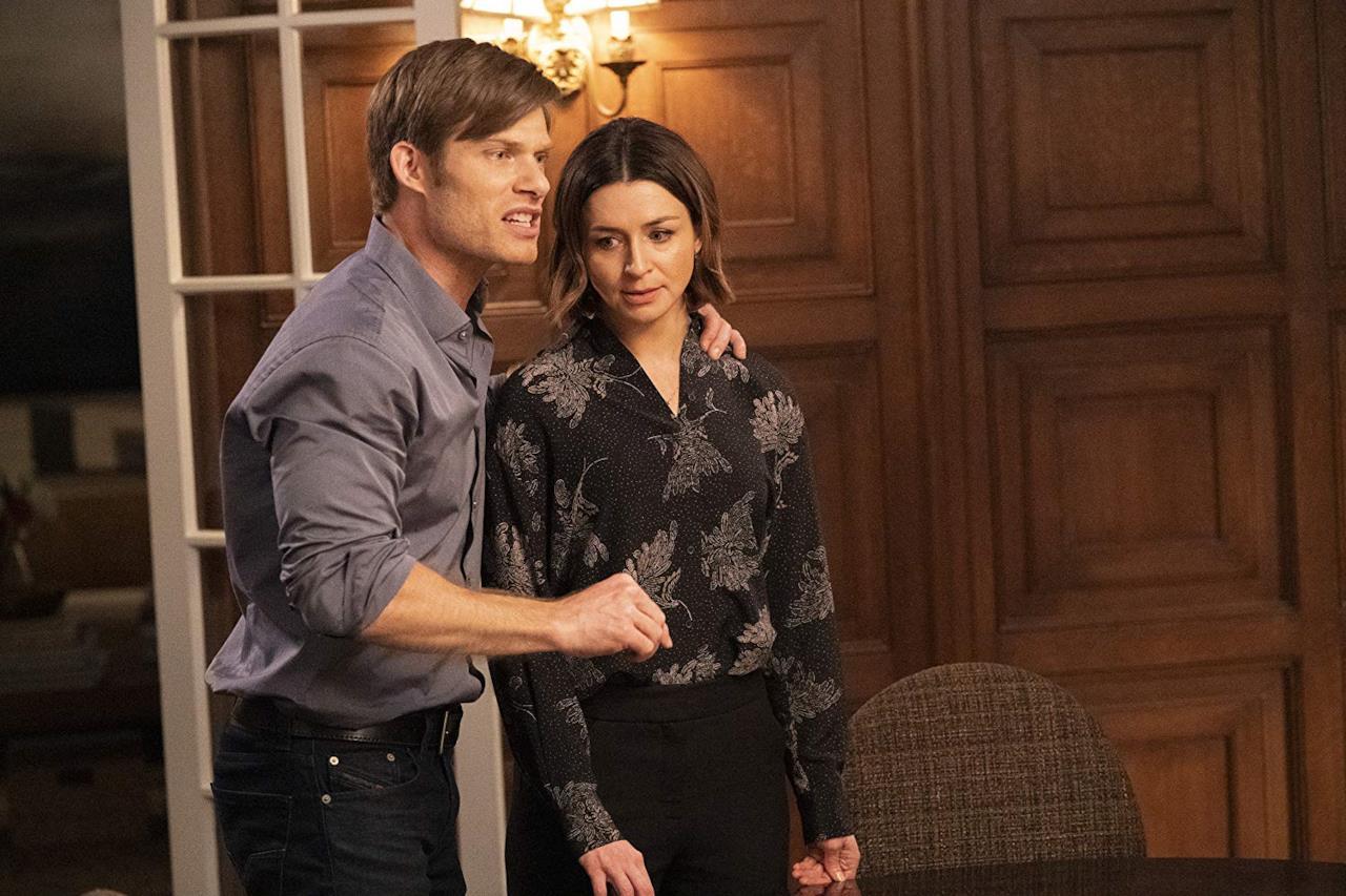 Un'immagine dall'episodio 15x21 di Grey's Anatomy con Amelia e Link