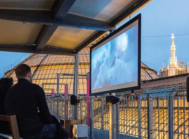 Il cinema Bianchini: film con vista sul Duomo di Milano
