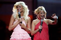 Paris Hilton e Nicole Richie nel 200 ai Teen Choice Awards