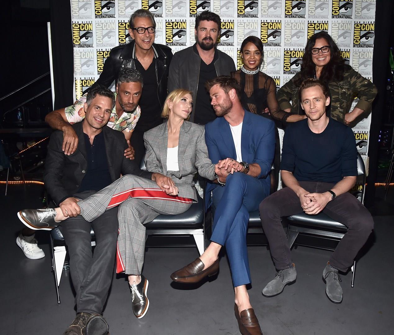 Il cast di Thor: Ragnarok al Comic-Con di San Diego 2017