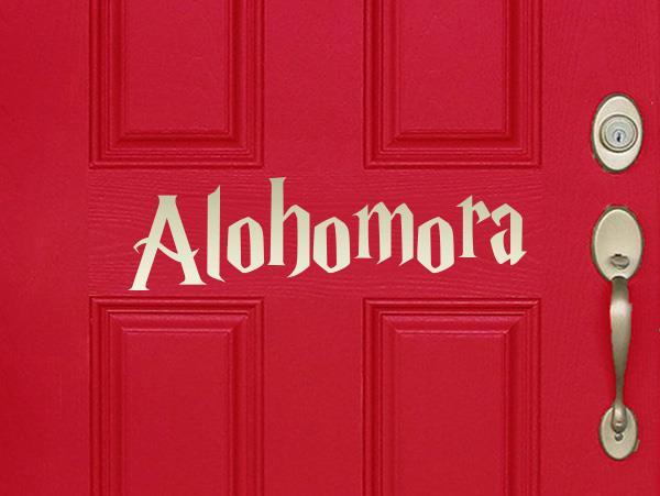 Alohomora door
