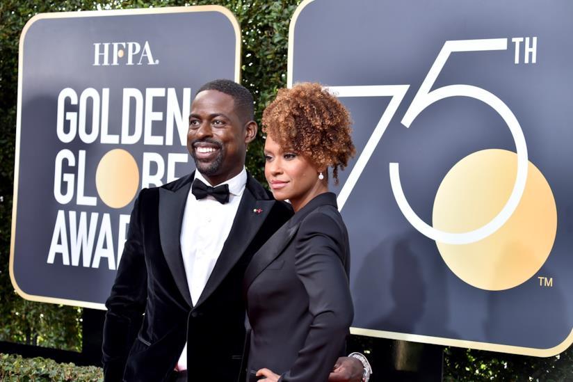 Sterling K Brown premiato alla 75° edizione dei Golden Globe Awards