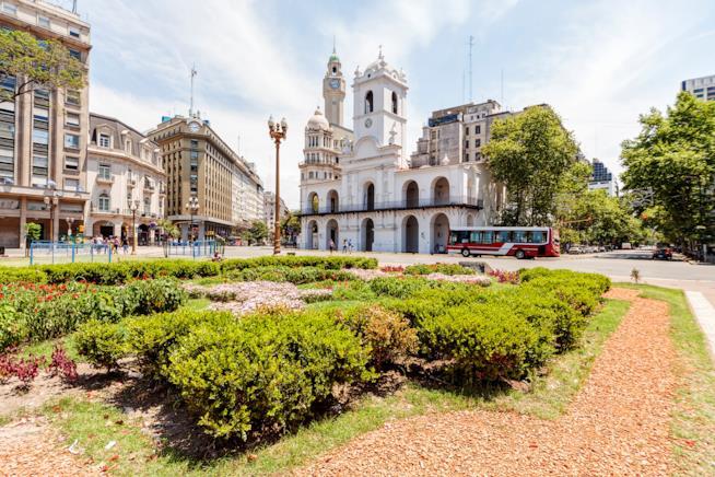 Cabildo di Plaza de Mayo