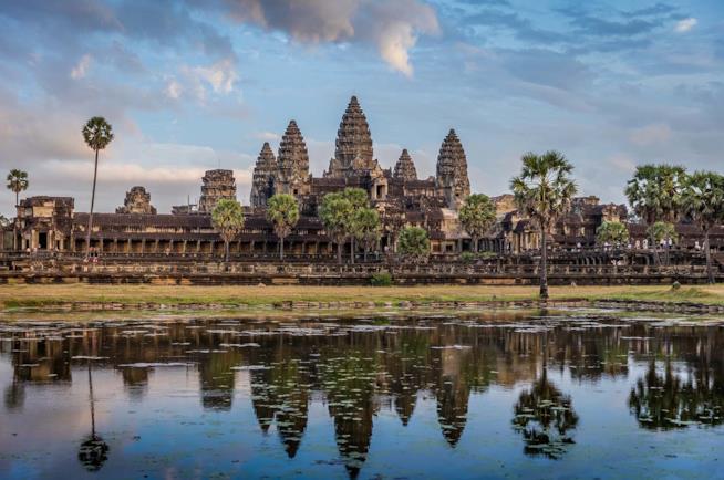 Il sito di Angkor Wat in Cambogia