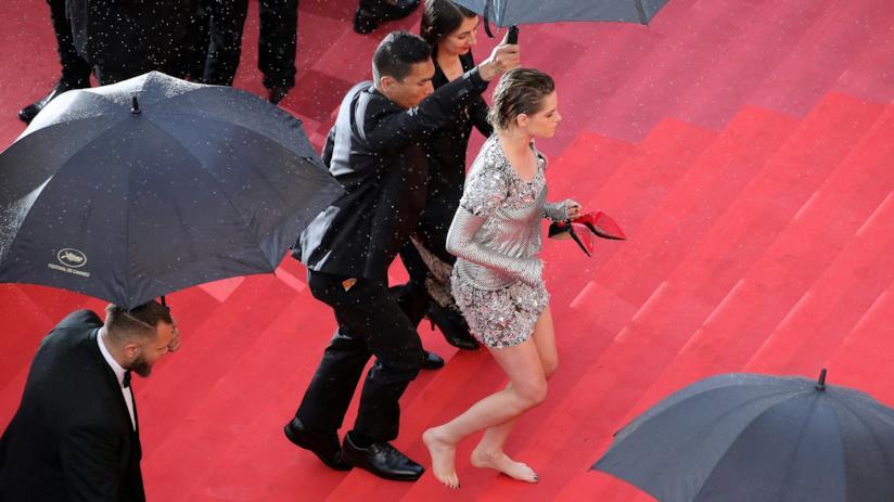 Kristen Stewart sul red carpet di Cannes