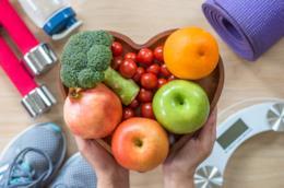 Frutta e verdure varie.