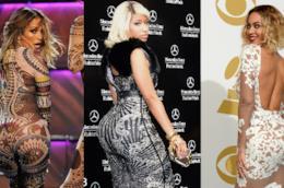 Jennifer Lopez, Nicki Minaj e Beyonce sfoggiano il fondoschiena