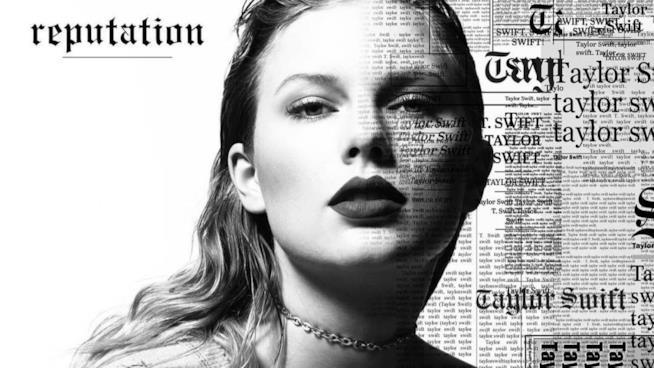Taylor Swift sulla cover del suo nuovo album