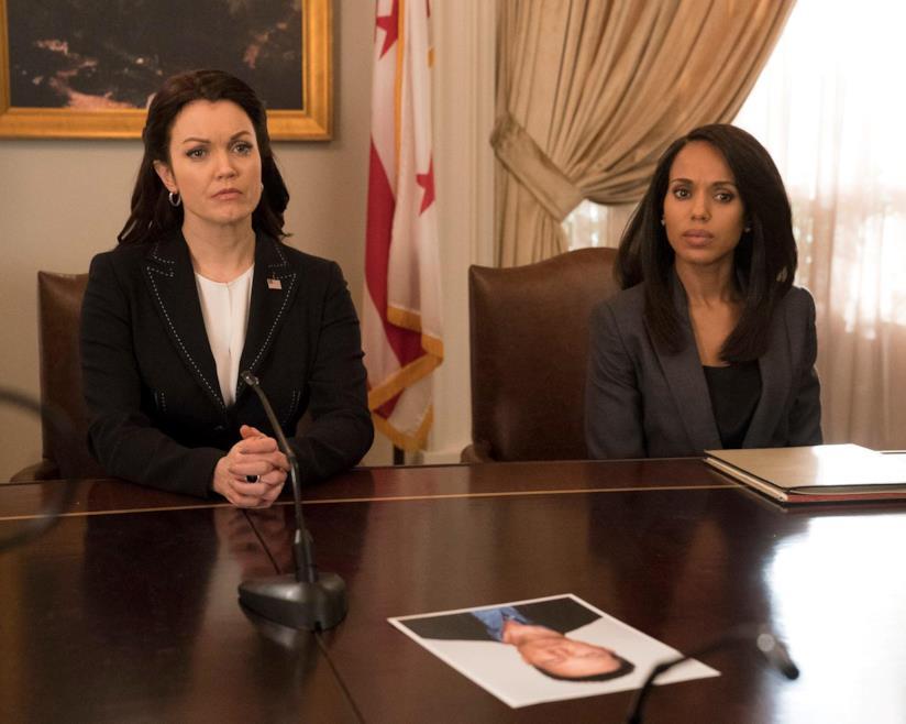 Mellie Grant e Olivia Pope in Scandal