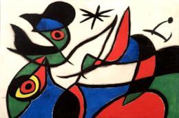 La mostra Miró! Sogno e colore in corso presso Palazzo Albergati a Bologna