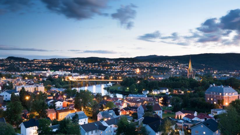 Tour in treno, in Norvegia, da Oslo a Trondheim