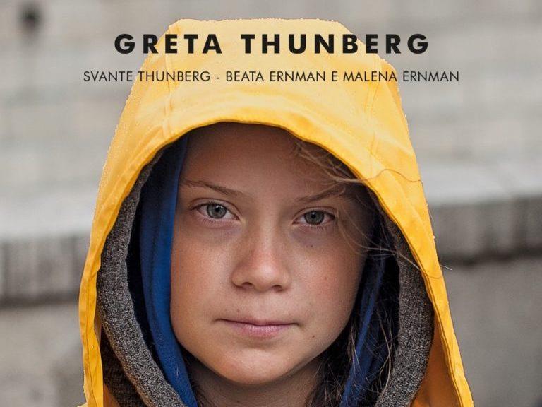 La nostra casa è in fiamme è il primo libro di Greta Thunberg