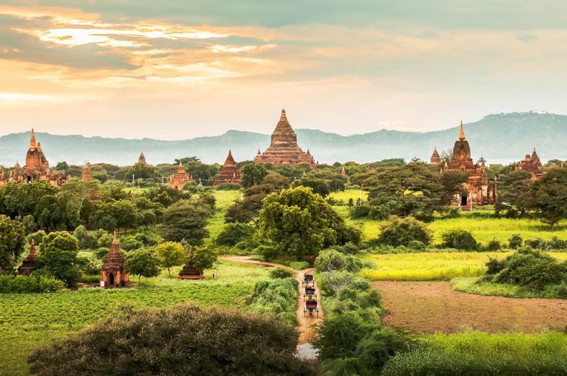 Viaggio con amici in Myanmar