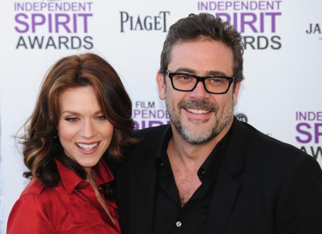 Jeffrey Dean Morgan con Hilarie Burton