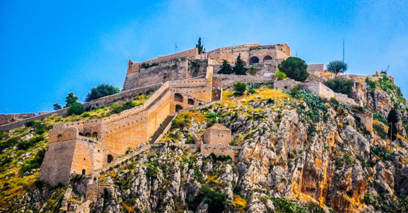 Vista della Fortezza di Palamidi