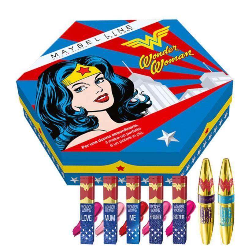 Make up collection di Maybelline ispirata a Wonder Woman