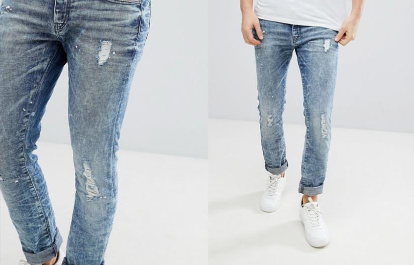 Jeans strappati da uomo di Armani Exchange