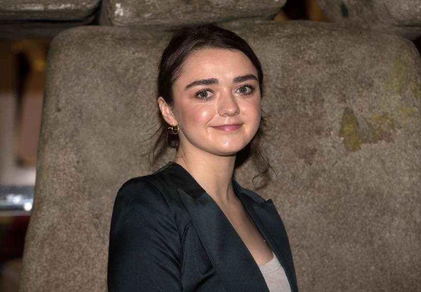 L'attrice Maisie Williams