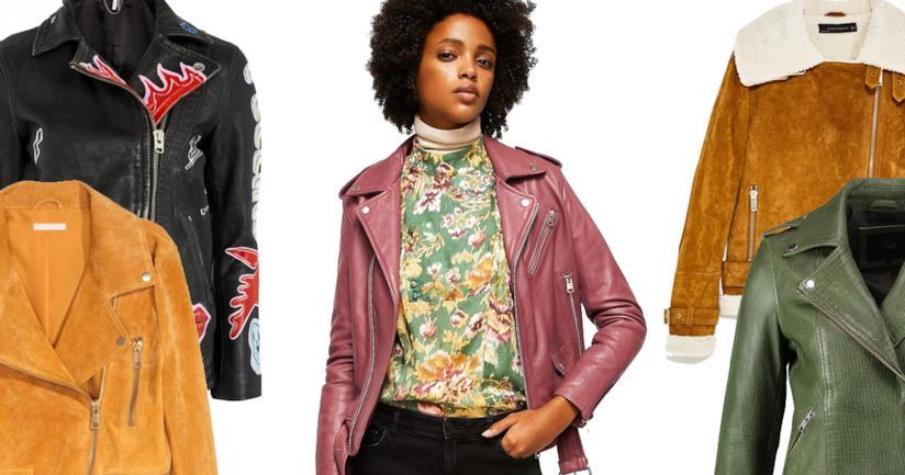 reputable site 1e2e7 40ded Le giacche in pelle per la donna da comprare su Zalando ...