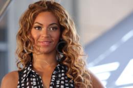 La cantante Beyoncé