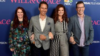 Il cast di Will & Grace