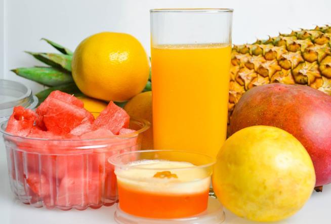 Diversi tipi di frutta.