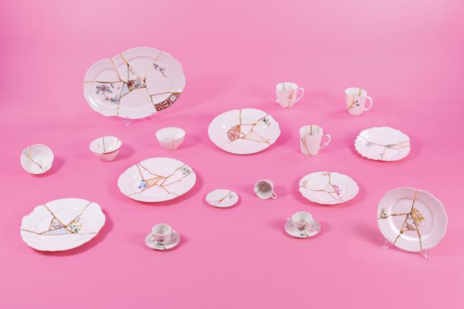 Idee regalo per la casa: piatti Kintsugi