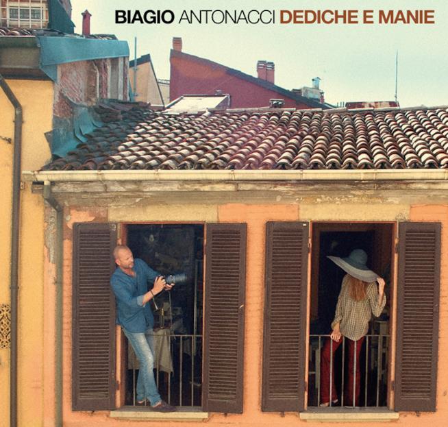 Biagio Antonacci cover album Dediche e Manie