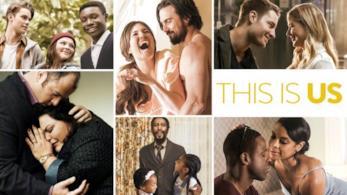 Il poster della seconda stagione di This is Us