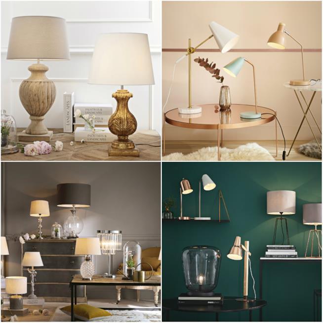 Maisons du monde il catalogo lampade e illuminazione - Lampade da tavolo classiche ...