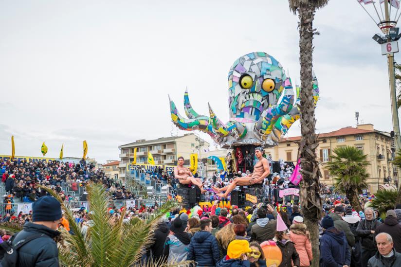Gli eventi del Carnevale di Viareggio