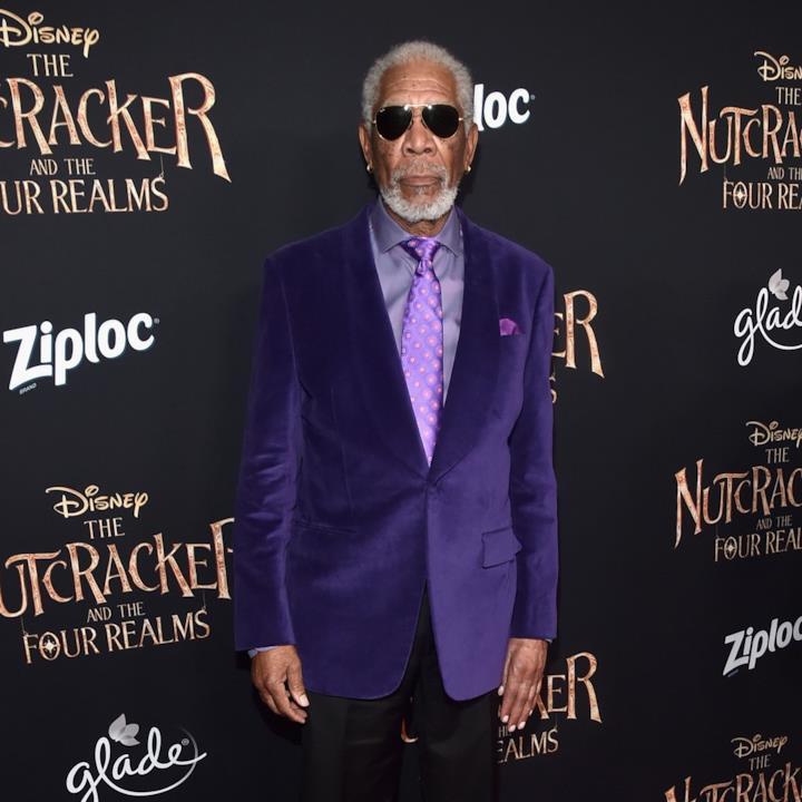 Morgan Freeman Lo Schiaccianoci Disney