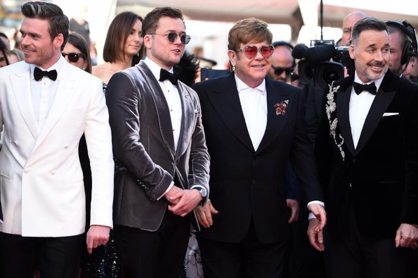 Taron Egerton ed Elton John