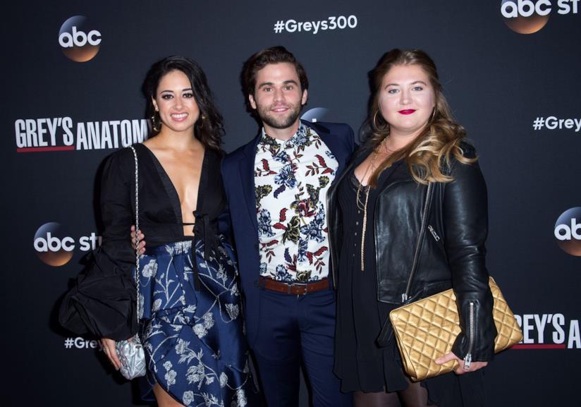 i tre specializzandi di Grey's Anatomy