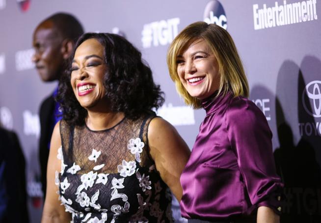 Shonda Rhimes ed Ellen Pompeo