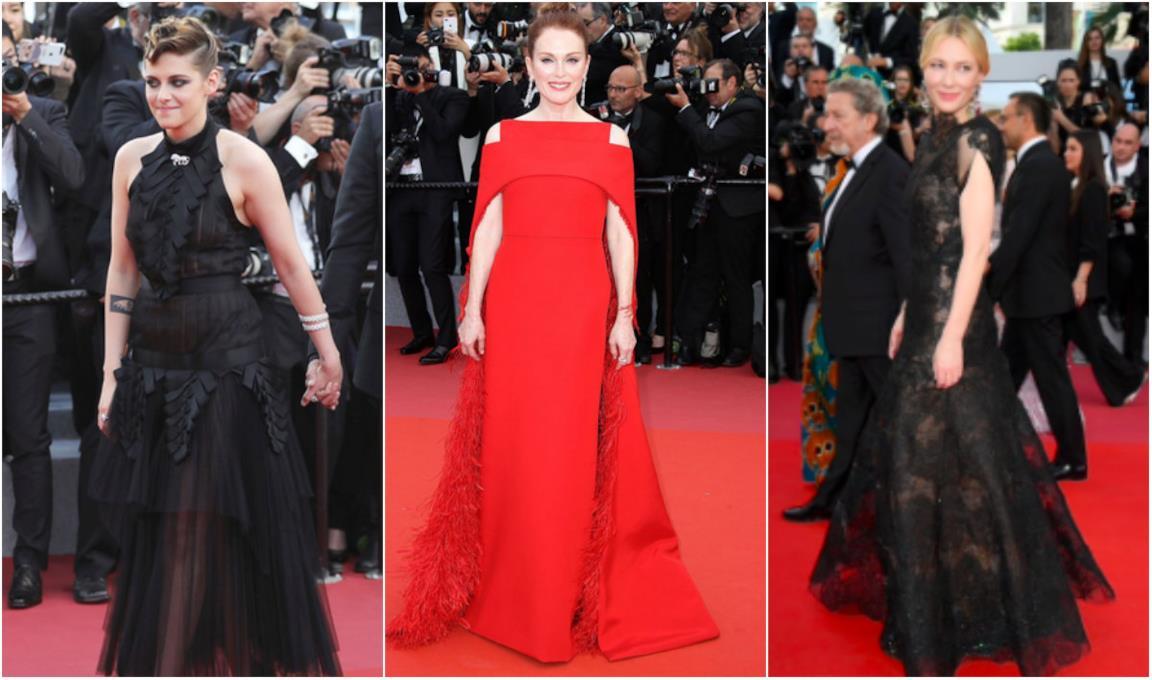 Cate Blanchett, Kristen Stewart, Julianne Moore a Cannes 2018