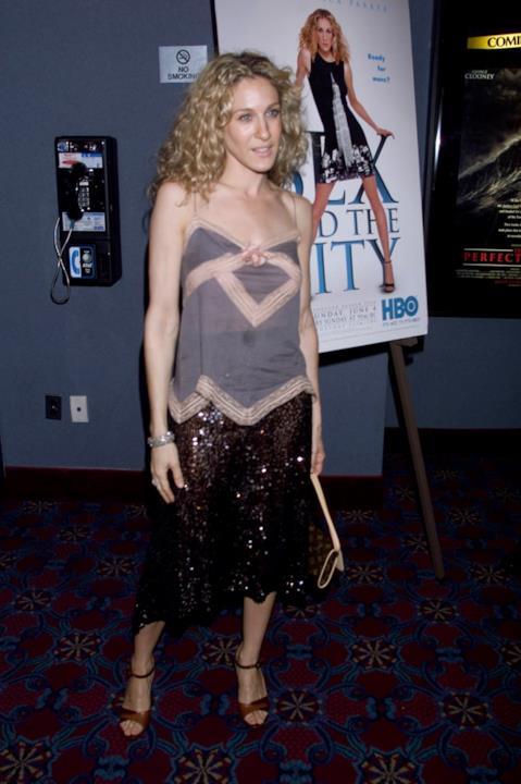 Sarah Jessica Parker con un look da sera