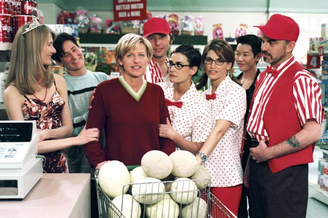 Ellen Degeneres nella serie TV Ellen
